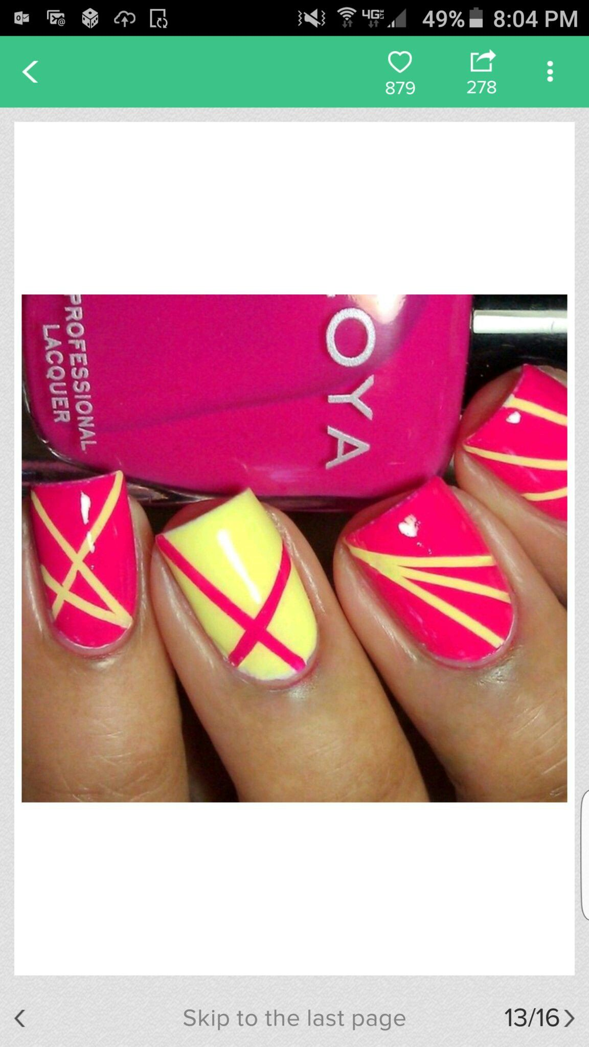 Pin by Ellie Ludwig on nail art | Pinterest