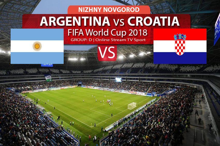 Watch argentina vs Croatia online streaming in HD, FIFA