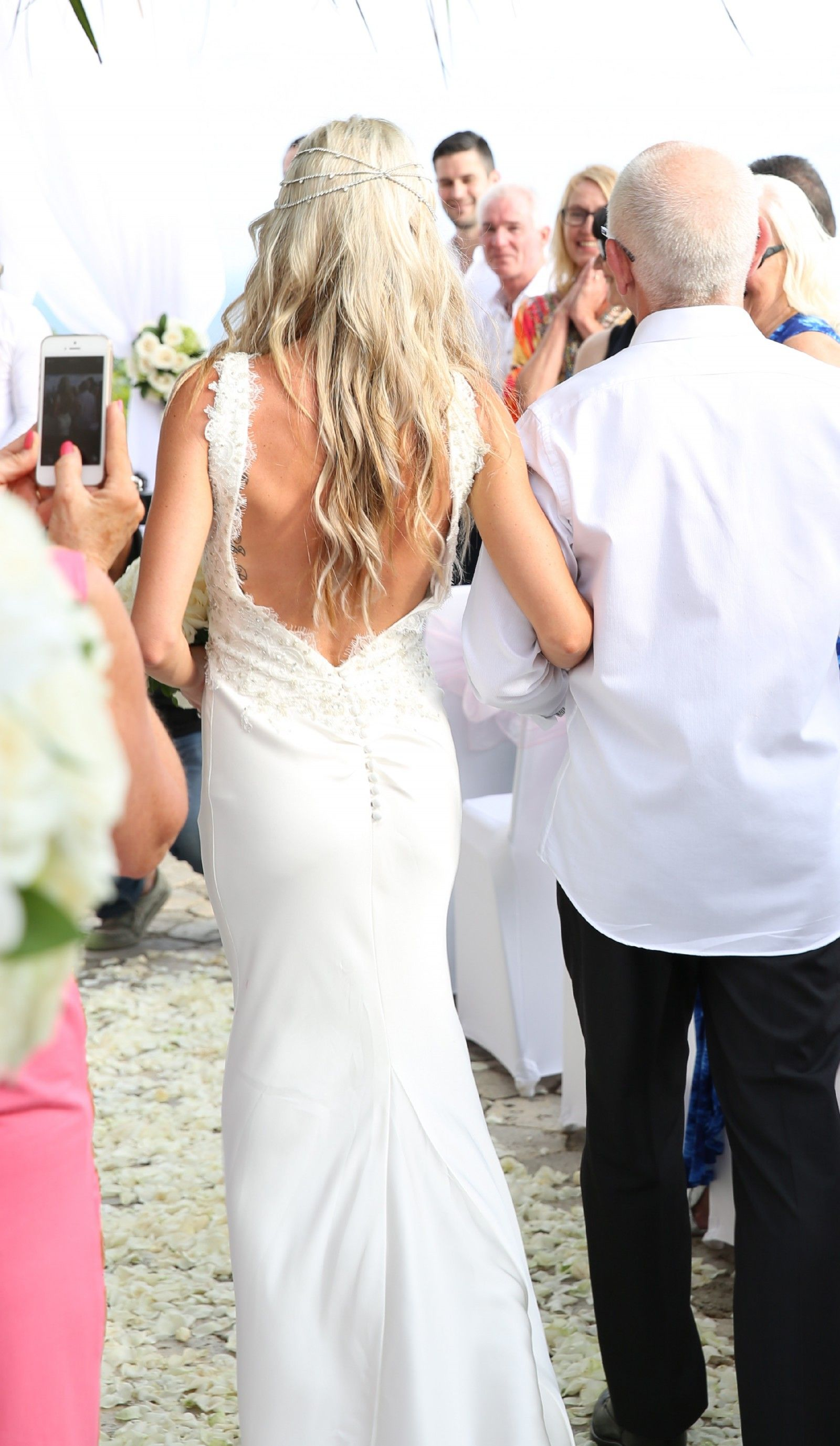 Melanie Ford Custom Designed Second Hand Wedding Dress