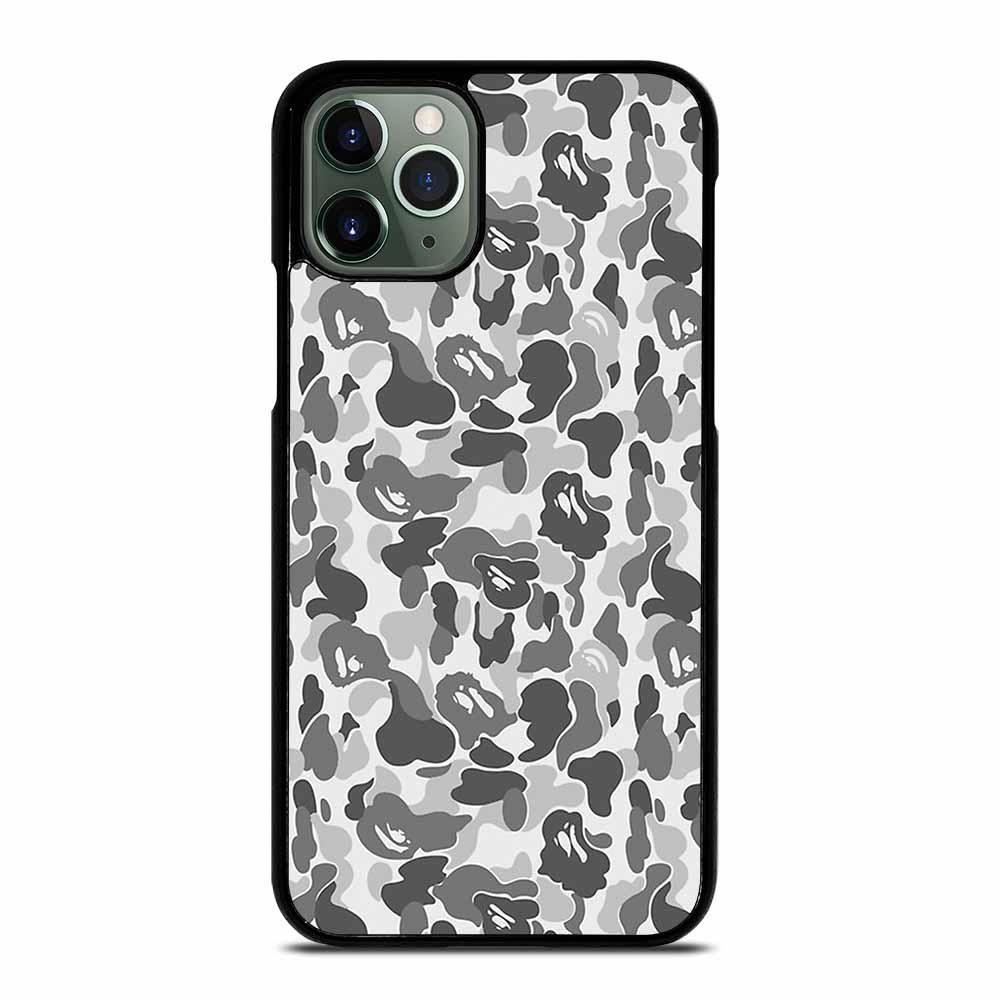 Bape camo silver iphone 11 pro max case iphone 11