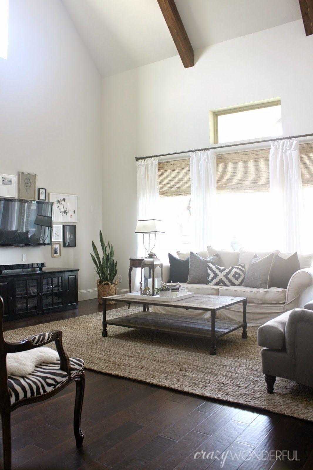 living room updates Crazy Wonderful living