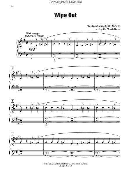 Wipeout Drum Solo Drum Sheet Music Drum Sheet Music Sheet