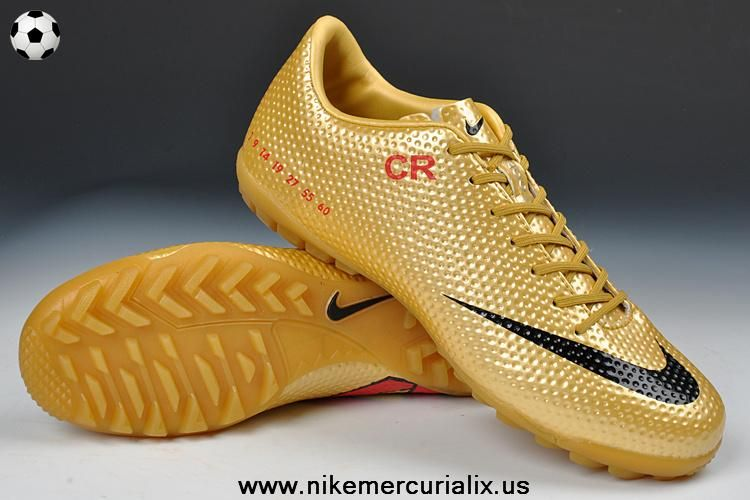new arrival 07cf6 2c3f3 (White Gold) Nike Mercurial CR7 2014