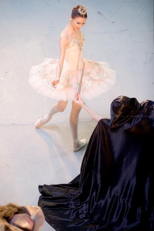 "Svetlana Zakharova Светлана Захарова (Bolshoi Ballet), ""The Sleeping Beauty"" choreography by Nacho Duato, Mikhailovsky Theatre"