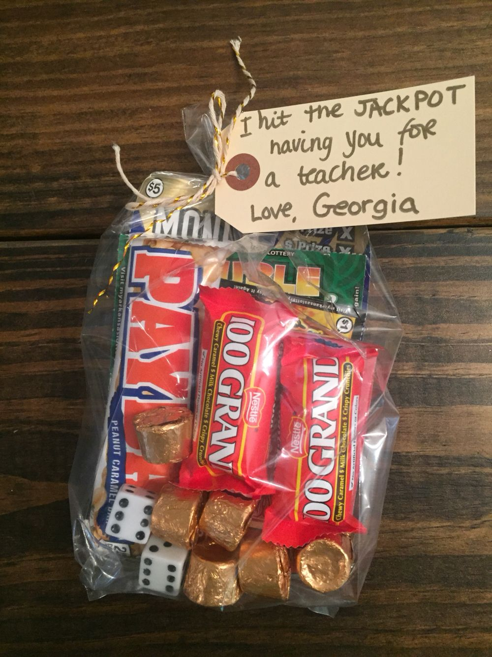End of year teacher gift. Lottery tickets. | Give | Pinterest ...