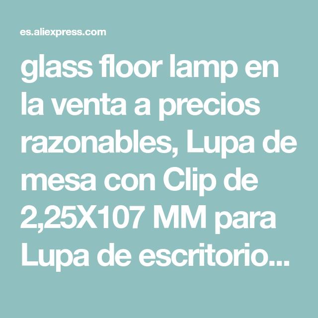 lamp venta a precios razonablesLupa de la en glass floor qGLpUSVzM