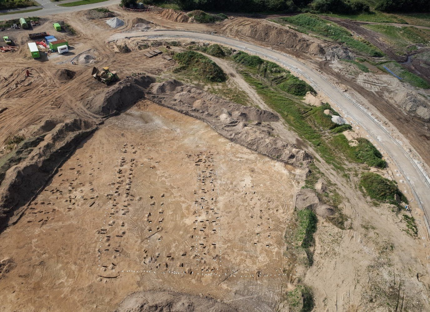 Early Medieval Farming Village Unearthed Near Famed Viking ...