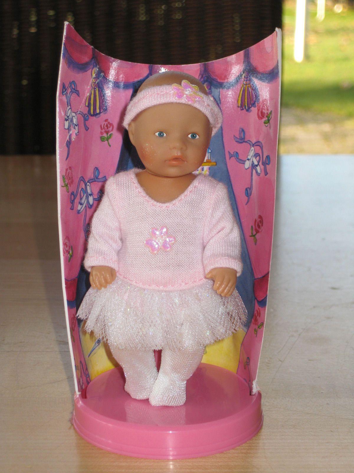 pinke Ballerinas für Baby Born Puppe NEU!!! Puppen & Zubehör