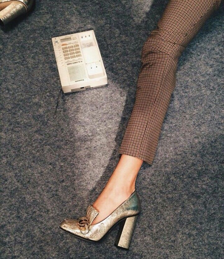 01d7cd180ac gucci gold loafer heels