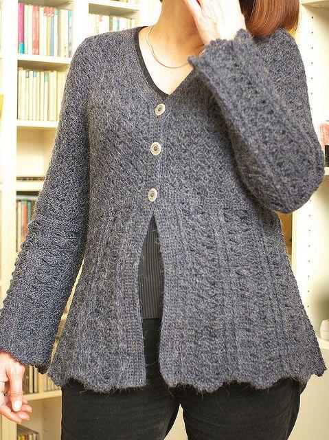 Fall\'s Smoke by EclatDuSoleil, crochet cardigan - free ravelry ...