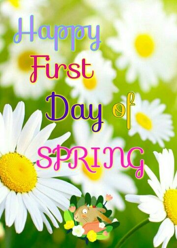 First Day Of Springhappy Spring To All My Contributors And