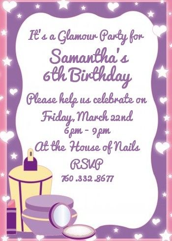 Birthday party invitation message my birthday pinterest party birthday party invitation message stopboris Gallery