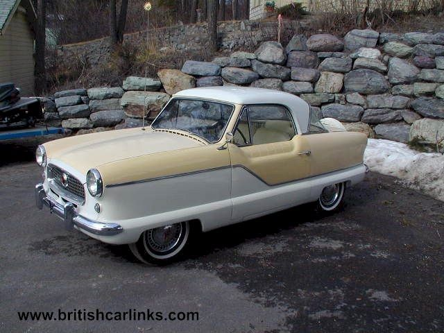 Nash Metropolitan Cars | 1957 Nash Metropolitan For Sale Rear