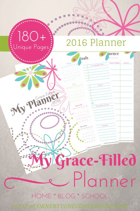 my grace filled planner pinterest planners organizations and