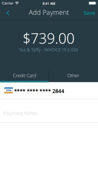 GET INVOICING With Invoice by Wave Invoices, credit card - home invoice