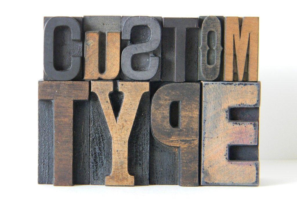 Vintage Wood Letters From HttpWwwEtsyComPeopleMonkivintage