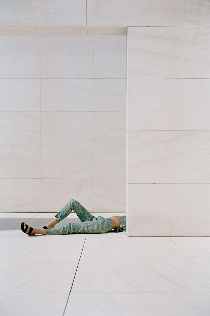 Paloma Wool collaboration with Berta Bernad, shot in a museum space