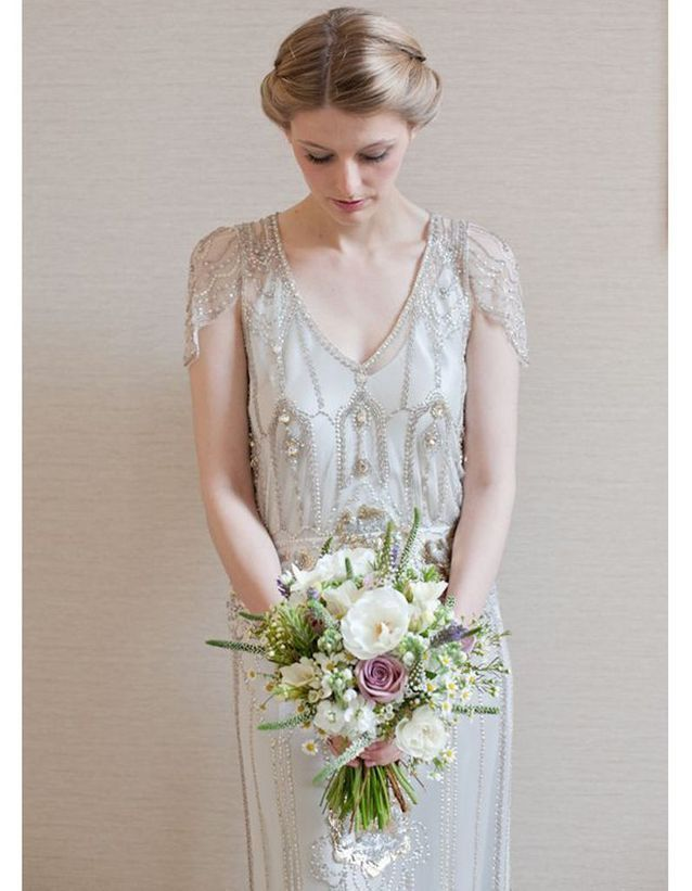 Robe de mariée rétro années 20 | Robe de