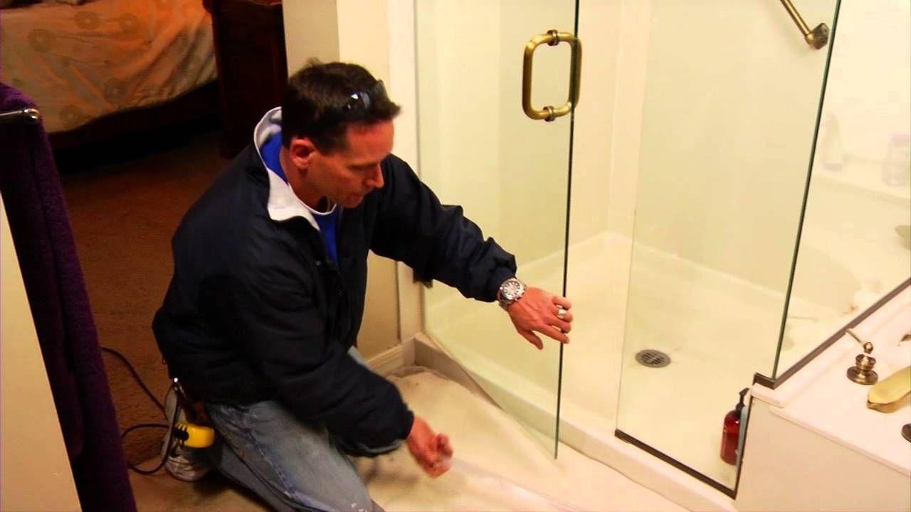 How to replace a shower door sweep | Shower doors, Door ...
