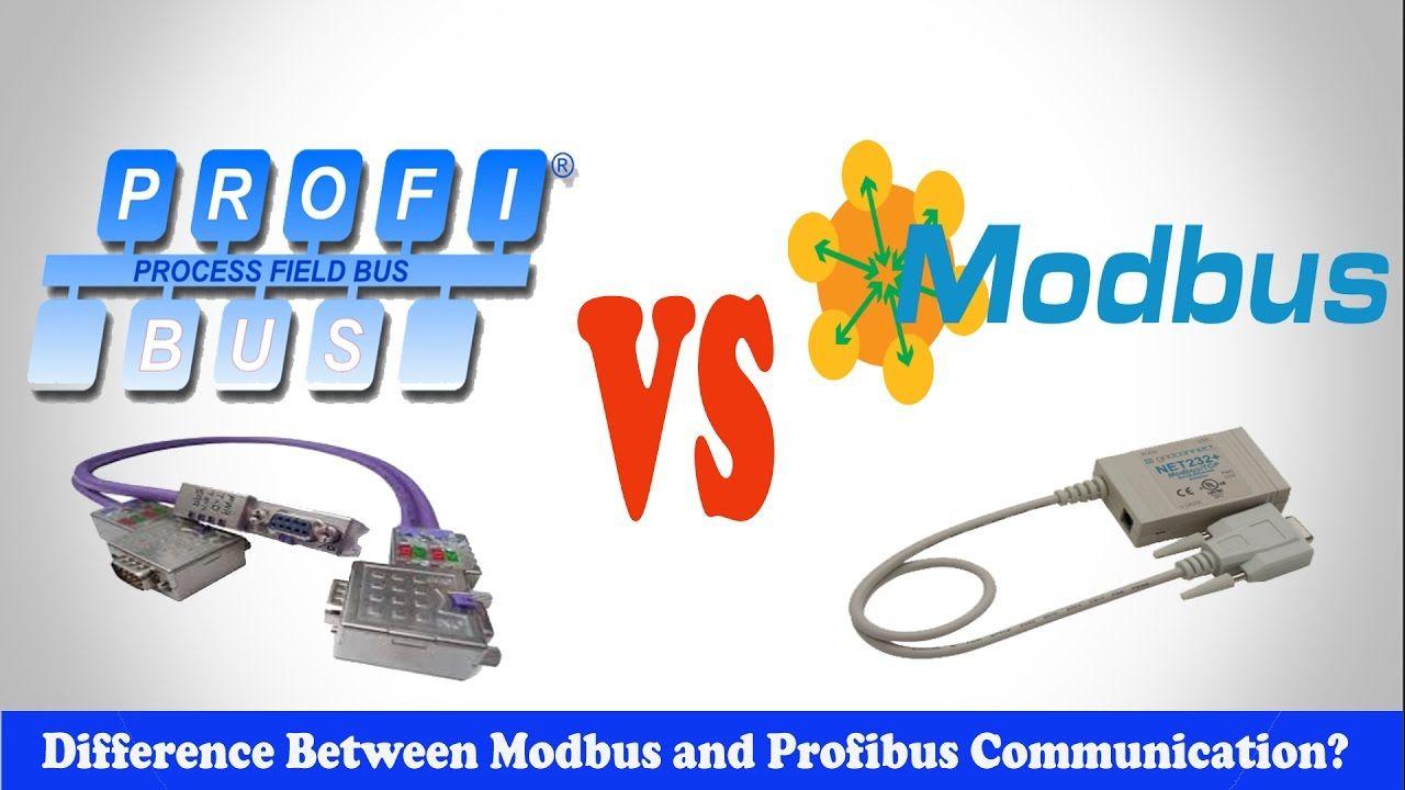 Profibus Vs Modbus Difference Between Modbus And Profibus Communication Youtube Communication Learning