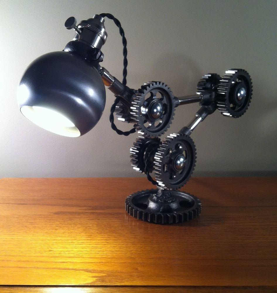 About Details Desk Machine Gear Industrial Lamp Task Light qVSUzMpG
