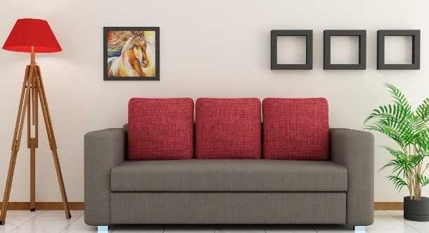 Sofa Fabric 3 1 1 Seater On Rent In Delhi Ncr Hyderabad India Furniture Fabric Sofa Sofa