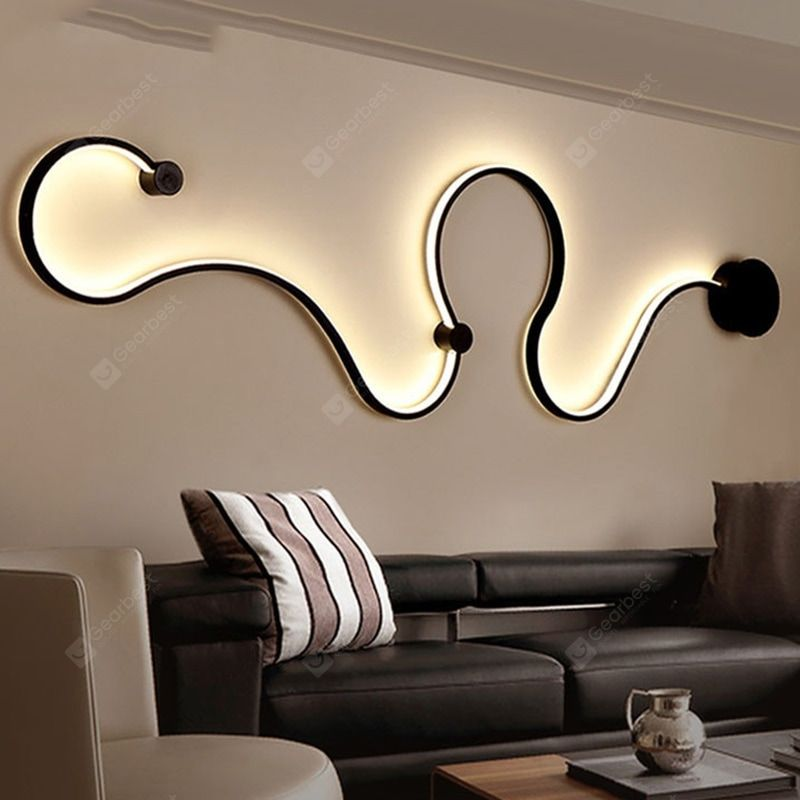 Nordic Wall Lamp Personality Creative Living Room Aisle Bed