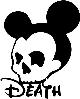 O Death Death Disney Mickey Mouse Skull Mickey ºoº Mouse