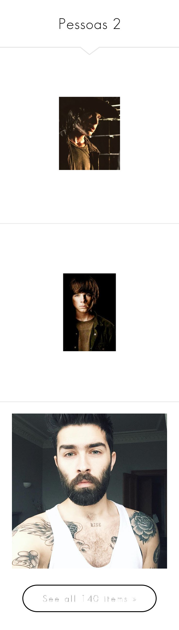 """""""Pessoas 2"""" by beatriz-ceifadora on Polyvore featuring walking dead, chandler riggs, the walking dead, people, guys, boys, pictures, anons, home e home decor"""