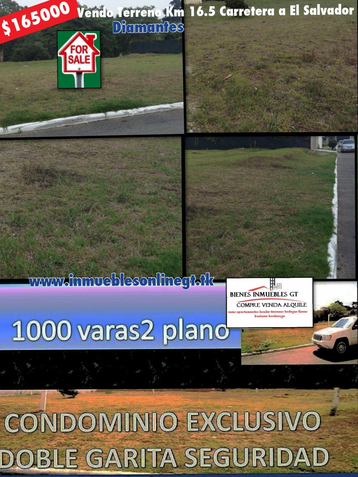 Vendo Terreno 1000 Varas2 Km 16 5 Carretera A El Salvador Los