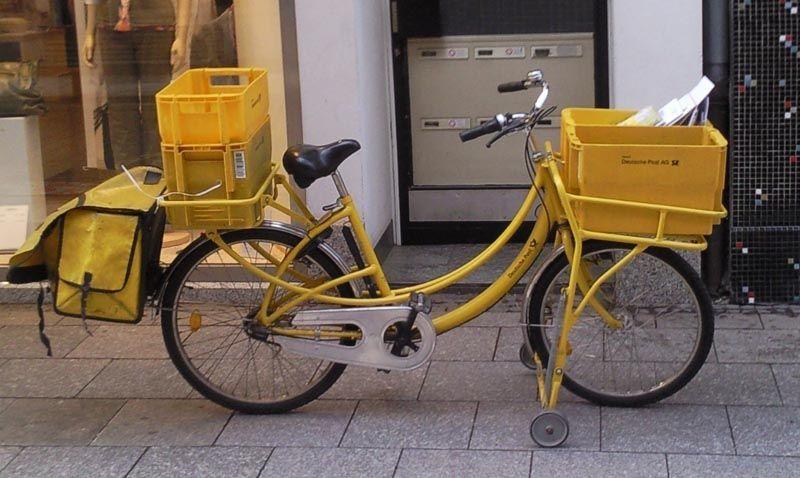 German Post Office Cargo Bike Utility Cycling Cargo Bike Bike