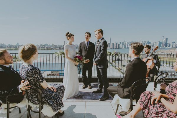 A Styled Wedding At Brooklyn S Wythe Hotel
