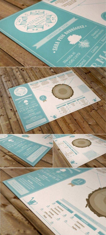 Nueva Tanda De Curriculums Creativos Para El 2013 Resume Design Creative Graphic Design Resume Creative Branding