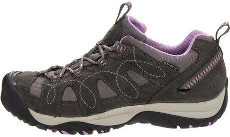 Keen Women's Hiking Shoes Sale | Keen Keen Womens Shasta Waterproof Trail Shoe in Gray (gargoyle/regal ...