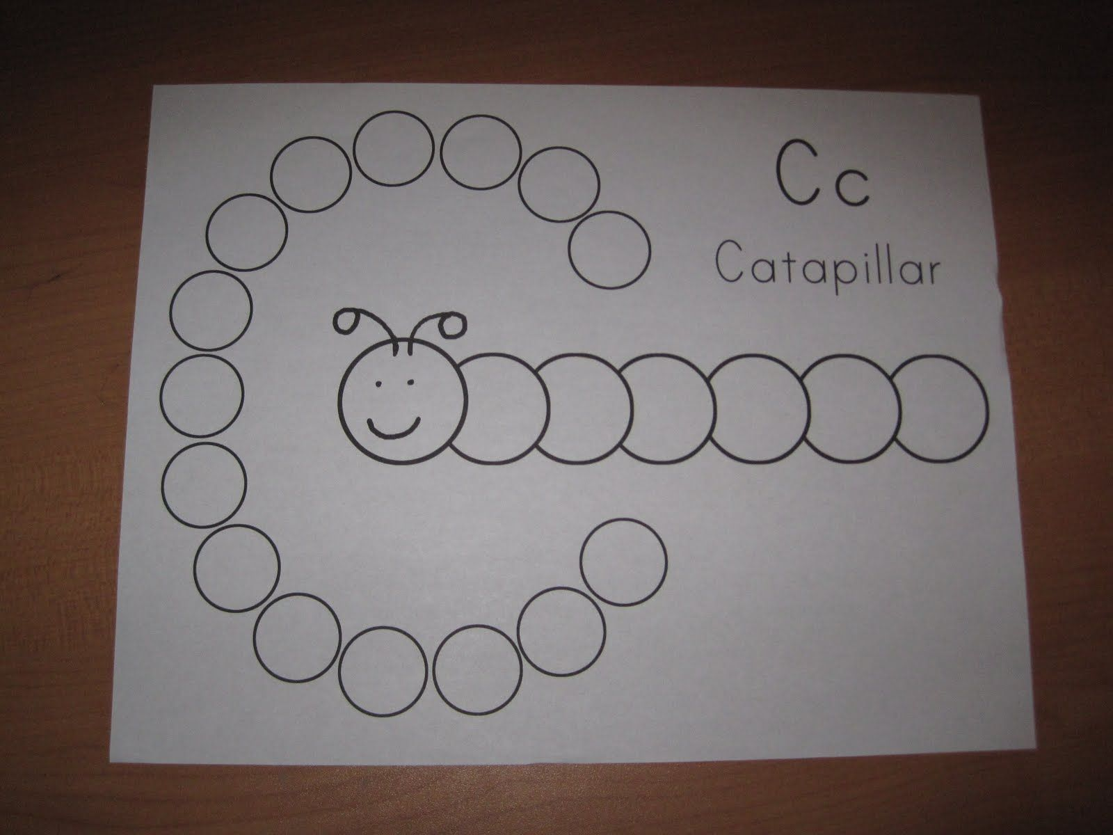 Prek Letter C With Images