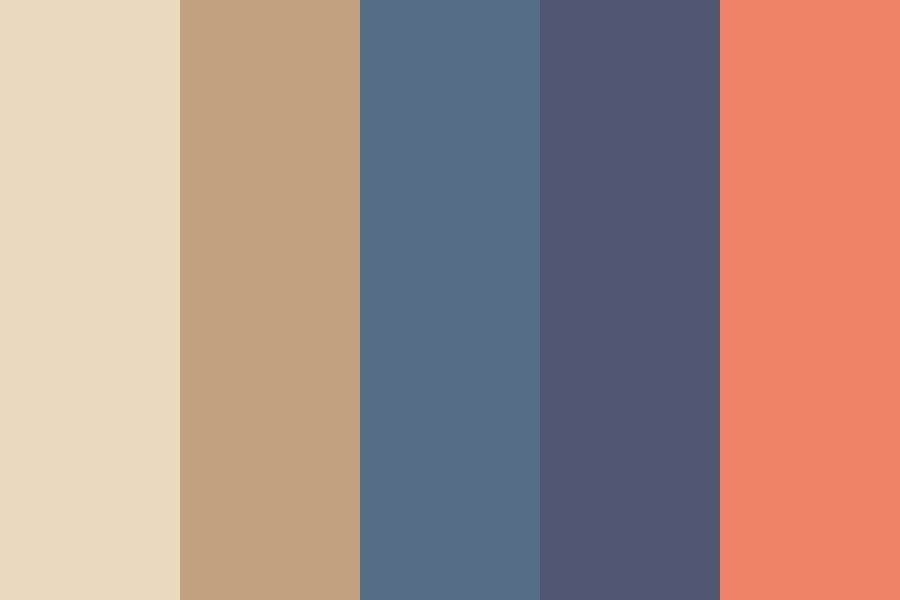 A California Beach Color Palette Color Colorschemes