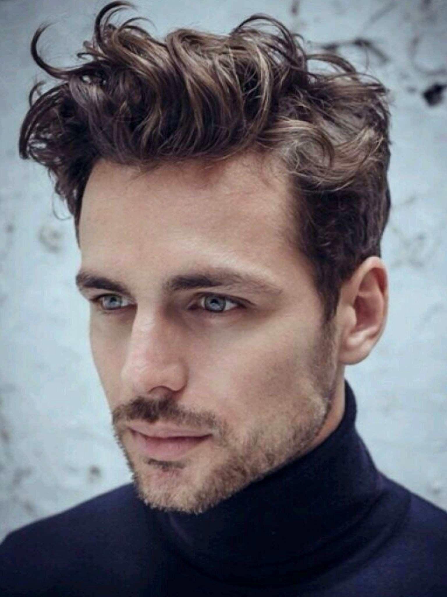 Wavy Hairstyles For Men Gallery In 2020 Wavy Hair Men Short Wavy Hair Pompadour Hairstyle