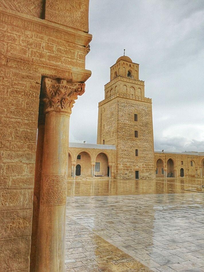 Gran Mezquita De Kairouan En Túnez Tunisia Africa Tunisia Ancient Cities