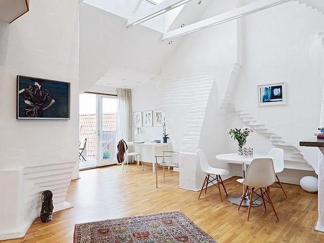 Scandinavian Style Open Concept Interior Design