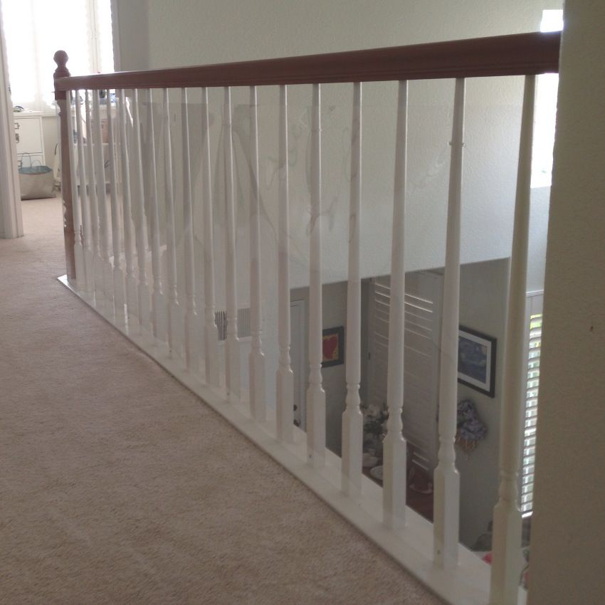 Good How To Make Your Stair Railings, Banisters And Balusters Safe For Your Baby  And Toddler. Plexiglas And Banister Shields Are Safe Options For Your Home.