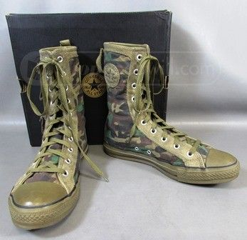 Converse Military Boot Tennis Shoes in