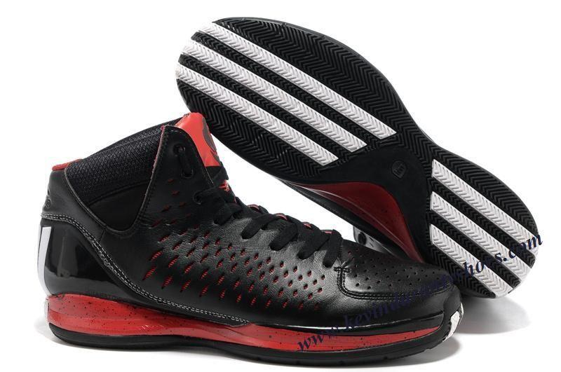 3c7a66c2de5a Adidas Adizero Rose 3.0 Derrick Rose Shoes Black Red White