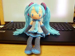 Amigurumi Doll Anime : Amigurumi crochet anime manga style doll inspiration