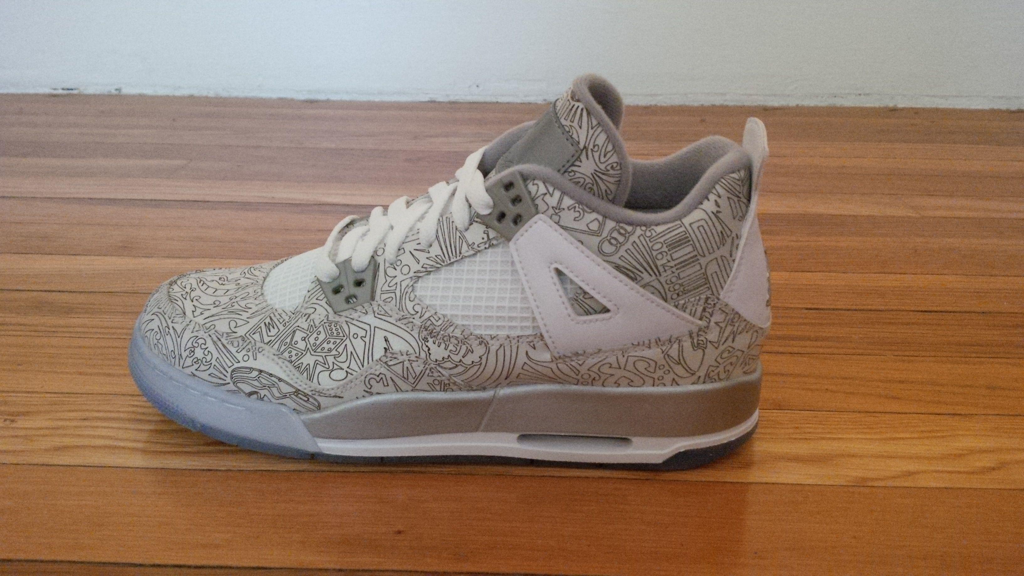 Come List Sneakers For Free Jordan Retro Iv Laser Bg