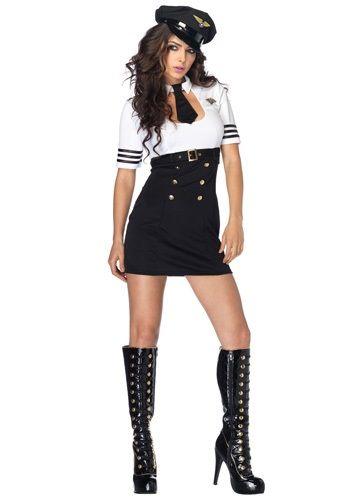 Déguisement Classe Halloween first class pilot captain costume | costumes i will wear | pinterest