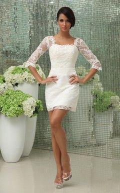 """39d921145 Vestidos De Novia Cortos Y Sexis. """"Modelos de vestidos cortos para  matrimonio"""" Las"""