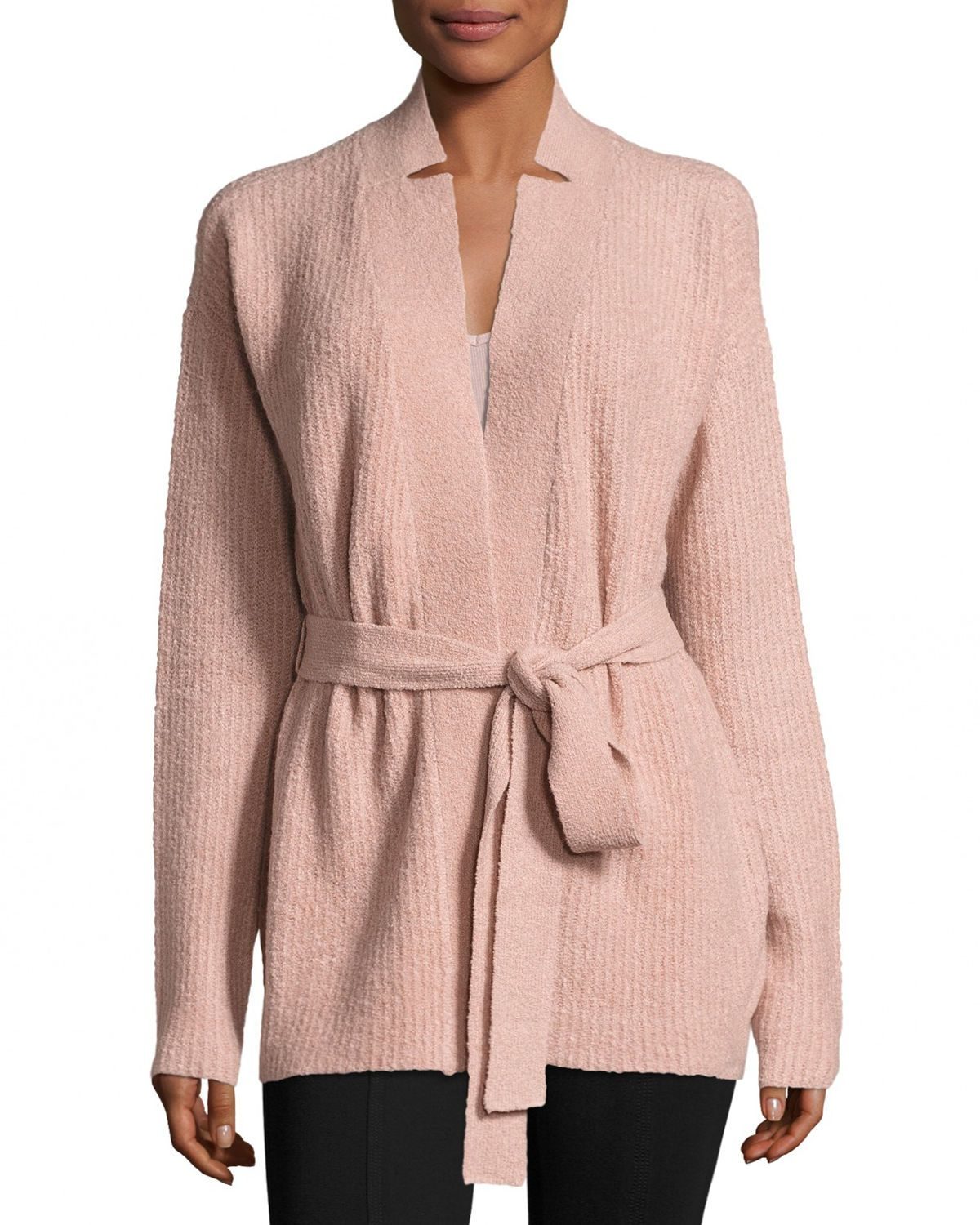 Cashmere Blend Belted Cardigan Sweater   Cardigans, Sweaters and ...
