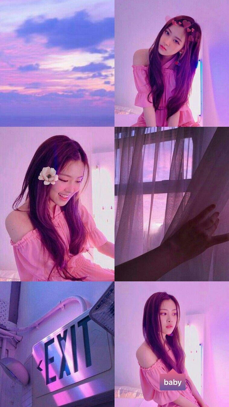 Pink Purple Aesthetic Wallpaper Rose Of Blackpink My Kpop Edits
