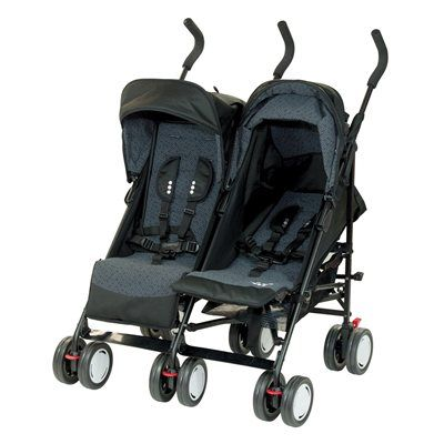 Steelcraft Twin Stroller...I like this one alot.