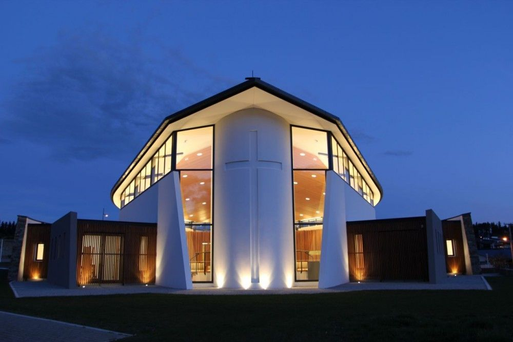 Modern Architecture Church Design gallery of wanaka catholic church / sarah scott architects ltd - 2